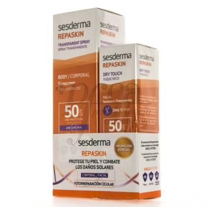 SESDERMA REPASKIN SPF50 BODY + FACE PROMO