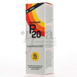 RIEMANN P20 SONNENSCHUTZ SPRAY SPF15 100 ML