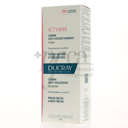 DUCRAY ICTYANE CREMA ANTI-SEQUEDAD 200ML