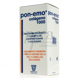 PON-EMO COLAGENO GEL DE BAÑO Y CHAMPU 1000ML