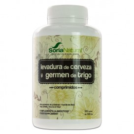 WHEAT GERM AND BEER YEAST 500 TABLETS SORIA NATURAL R.06077