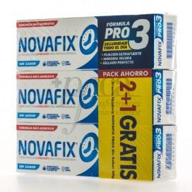 NOVAFIX FORMULA PRO 3 NO FLAVOUR 3X50 G PROMO