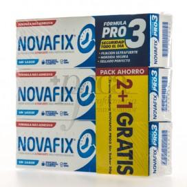NOVAFIX FORMULA PRO 3 SIN SABOR 3X50 G PROMO