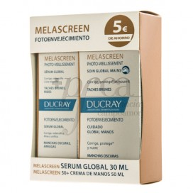 MELASCREEN SERUM GLOBAL + CREMA MANOS PROMO