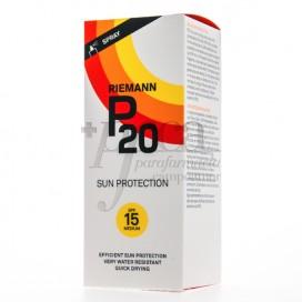 RIEMANN P20 PROTECTOR SOLAR SPRAY SPF15 200 ML
