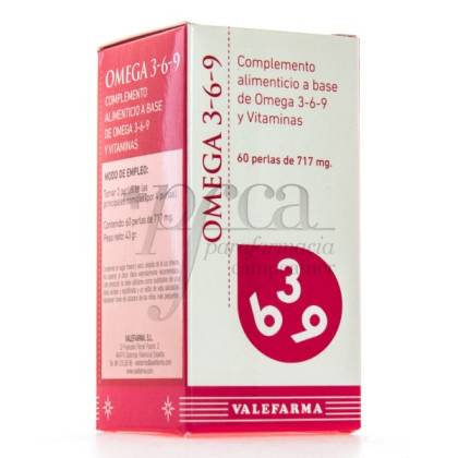 OMEGA 3-6-9 60 PEARLS VALEFARMA