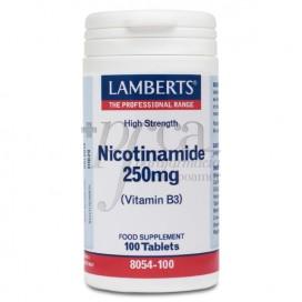 NICOTINAMIDA 250 MG 100 TABS 8054 LAMBERTS