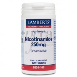 NICOTINAMIDA 250MG 100 TABS 8054 LAMBERTS
