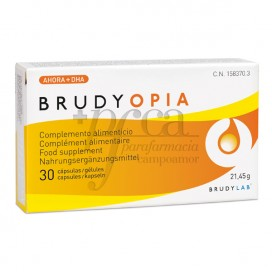 BRUDY OPIA 30 KAPSELN
