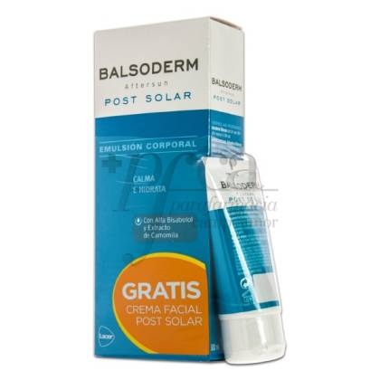 BALSODERM EMULSION 300ML+ FACE CREAM 50MLPROMO
