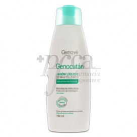GENOCUTAN DERMATOLOGICAL LIQUID SOAP 750 ML