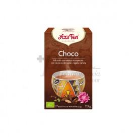 YOGI TEA CHOCO 17 SAQUETAS