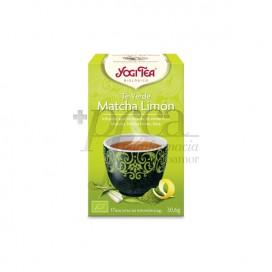 YOGI TEA MATCHA GREEN TEA AND LEMON 17 TEA BAGS