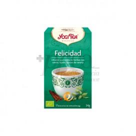 YOGI TEA FELICIDADE 17 SAQUINHOS DE CHÁ