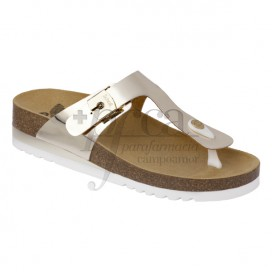 SANDALIA SCHOLL GLAM SS 1 T39 OURO