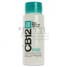 CB12 ENJUAGUE BUCAL MILD MINT 250 ML