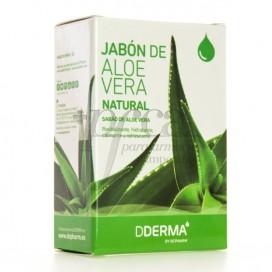 DDERMA JABON DE ALOE VERA NATURAL