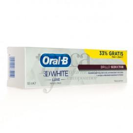 ORAL-B 3D WHITE LUXE TOOTHPASTE 75ML + 25ML PROMO