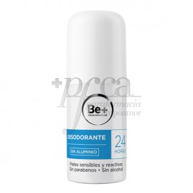 BE+ DESODORANTE 24H SIN ALUMINIO 50ML
