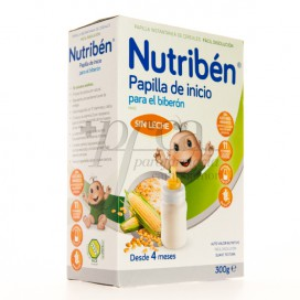NUTRIBEN PAPILLA INICIO PARA EL BIBERON 300G