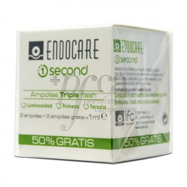 ENDOCARE 1 SECOND TRIPLEFLASH 4 AMPOLAS PROMO