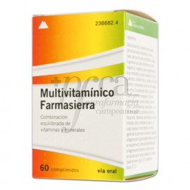 MULTIVITAMINICO FARMASIERRA 60 COMPS