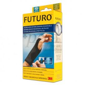 MUÑEQUERA NEGRA FERULA FUTURO AJUSTABLE