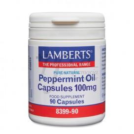 PEPPERMINT OIL 100MG 90 CAPSULES LAMBERTS