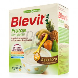 BLEVIT PLUS SUPERFIBRA FRUTAS SEM GLUTEN 600 G