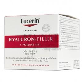 EUCERIN HYALURON VOLUME DIA SPF15 PIEL SECA 50ML