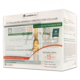 ENDOCARE C20 DRY SKIN 30 AMPOULES + CELLAGE DAY PROMO