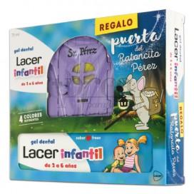 LACER CRIANÇAS GEL DENTAL 75ML + PRESENTE PROMO