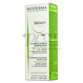 SEBIUM SERUM PEELING SUAVE 40ML BIODERMA