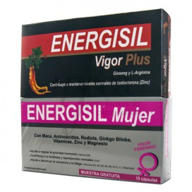 ENERGISIL VIGOR PLUS 30 CAPS + REGALO PROMO