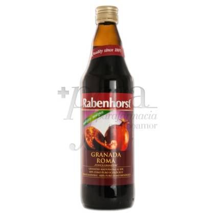 RABENHORST BIO POMEGRANATE JUICE 750 ML