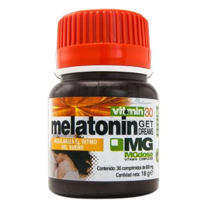 MGDOSE VIT&MIN 30 MELATONIN GET DREAMS 30 TABLETTEN SORIA NATURAL
