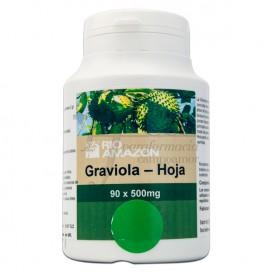 GRAVIOLA HOJAS 500MG 90 CAPS