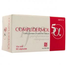 COMPLIDERMOL 5 ALFA 60 CAPSULES