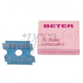 BETER HOJAS REPUESTO CORTACALLOS 10U 24028