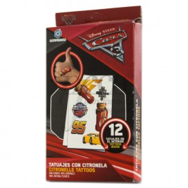 TATTOO WITH CITRONELLA CARS 3Y+ 12U
