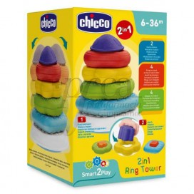 CHICCO 2IN1 RING TOWER 6-36M