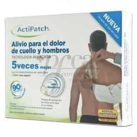 ACTIPATCH ALIVIO PARA DOLOR CUELLO Y HOMBROS 1U