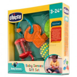 CHICCO BABY SENSES GIFT SET 3-24M