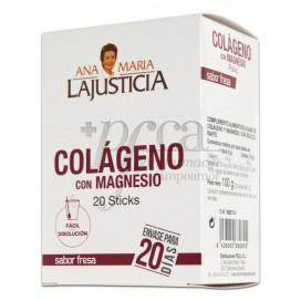COLAGENO CON MAGNESIO S/ FRESA 20 STICKS DE 5G