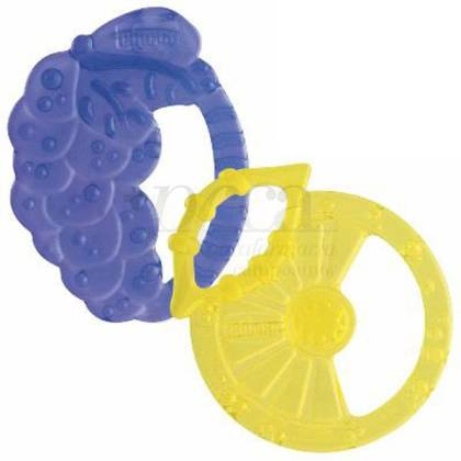 CHICCO SOFT RELAX RING TEETHER +2M