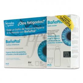 BAÑOFTAL 20 TOALLITAS + BAÑO OCULAR 50ML PROMO