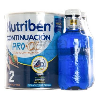 NUTRIBEN 2 FOLLOW-ON MILK PRO ALFA 800G + GIFT PROMO
