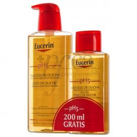 EUCERIN PH5 SHOWER OIL GEL 400ML + 200ML PROMO