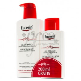 EUCERIN PH5 BATH GEL 400ML + 200ML PROMO