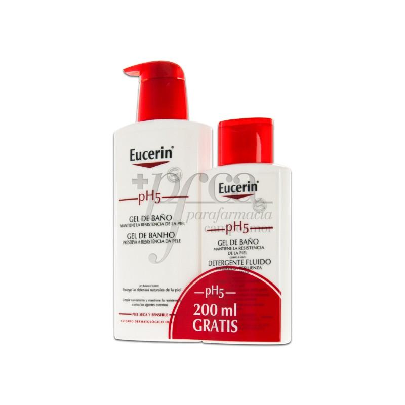 Eucerin ph5 gel de ba o 400ml 200ml promo parafarmacia campoamor - Eucerin gel de bano ...